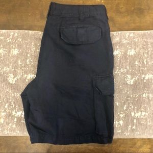 J. Crew Shorts - J. Crew Navy Irish Linen Cotton Shorts